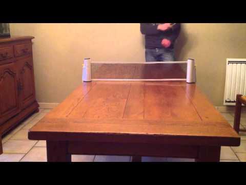 Faire un smash au tennis de table - Smash ping pong poster