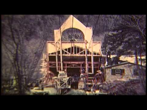 Building the Cannon Mountain Aerial Tram 1939