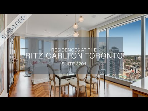 Residences of The Ritz-Carlton Toronto, Suite 3201 - For Sale: $1,950,000