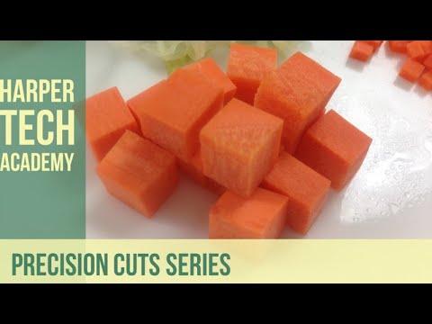 Precision Cuts Macedoine Youtube