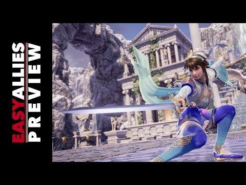 Bandai Namco Preview - Soul Calibur VI, Code Vein, and More!