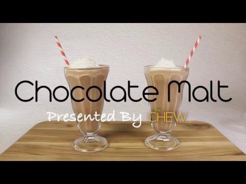 How To Make A Chocolate Malt Recipe Video - The Chew