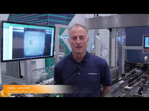 Automated By B&R – Promach's NJM Cumulus™ Case Packer @ PACK EXPO 2019