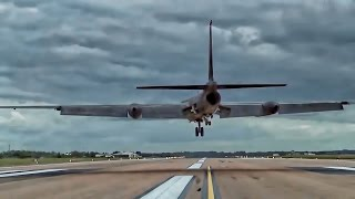 The Dragon Lady Lands At RAF Fairford • Two U2 Spy Planes