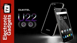 5.5 Inch HD Android 7.0 SmartPhone Oukitel U22 Cell Phone