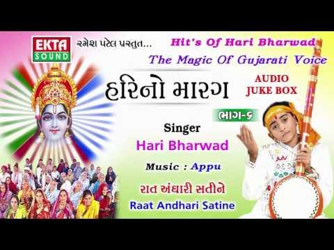 Hari Bharwad Super Hit Bhajan | Raat Andhari Satine | Popular Gujarati Bhajan | Hari No Marag Part 6