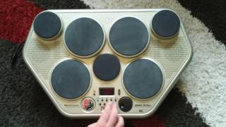 1/4 Yamaha DD-55 Davul Makinesi 100 Desenleri ve Şarkılar Part