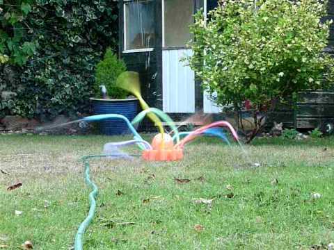 Freaky Octopus Garden Fountain Sprinkler Youtube