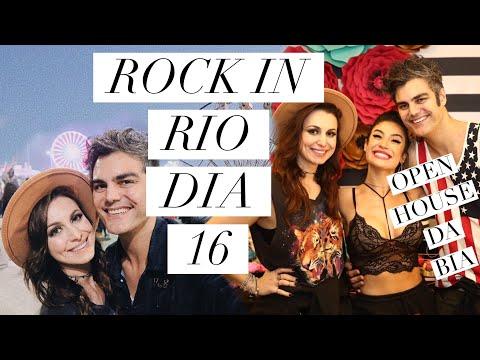OPEN HOUSE DA BIA + ROCK IN RIO | DIA 16 | VLOG #BIAVAIMORARSOZINHA #ROCKINRIO2017