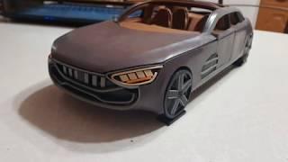 Постройка Модели Автомобиля Из Пластилина 14. Колеса И Подвеска (Заключительная Серия)