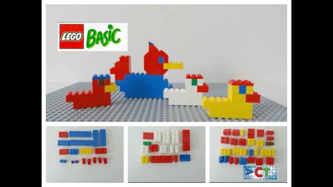 Lego easy tutorial ducks 1 diy lego basic youtube for Easiest way to build a house