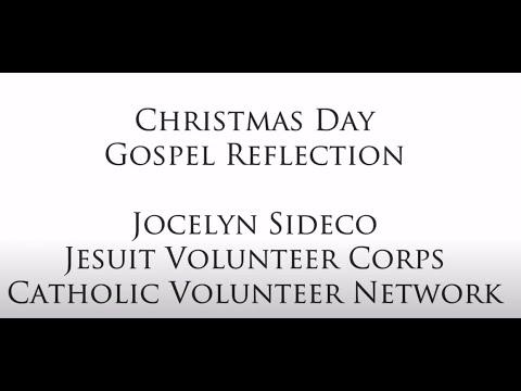 Christmas Day Gospel Reflection