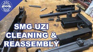 Gunsmithing The Uzi: Cleaning & Assembling an SMG Uzi