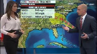 Tropical Tracker: Hurricane Florence