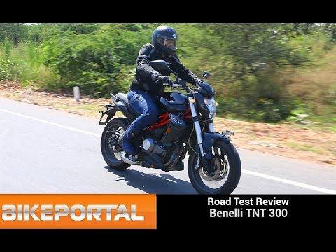 Benelli TNT 300 Test Ride Review - Bikeportal