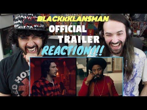 BLACKkKLANSMAN - Official TRAILER REACTION & REVIEW!!!
