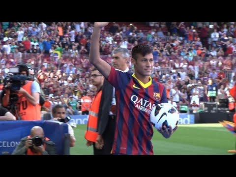 Neymar has said goodbye to his Barcelona teammates, including Lionel Messi
