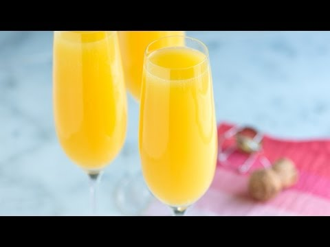 How to Make The Best Mimosa Recipe - Classic Mimosa Cocktail
