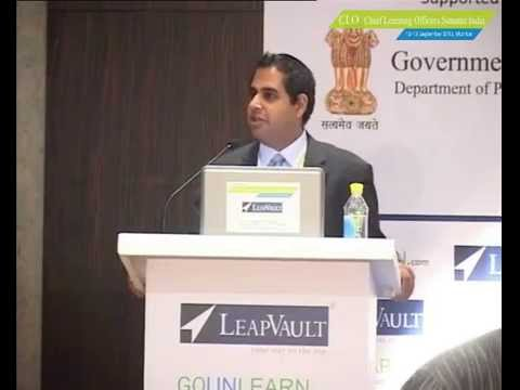 Mr. Nishith Acharya at Chief Learning Officers Summit India