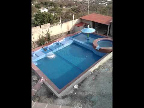 Llenado de alberca chapoteadero jacuzi y asoleader youtube for Construccion de piscinas en monterrey
