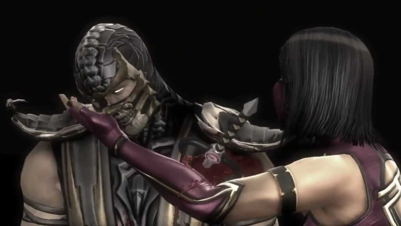 Секси mileena mortal kombat 9