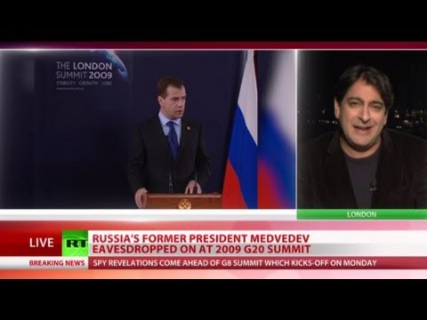 NSA Leaks: US spied on frmr President Medvedev at 2009 G20 summit