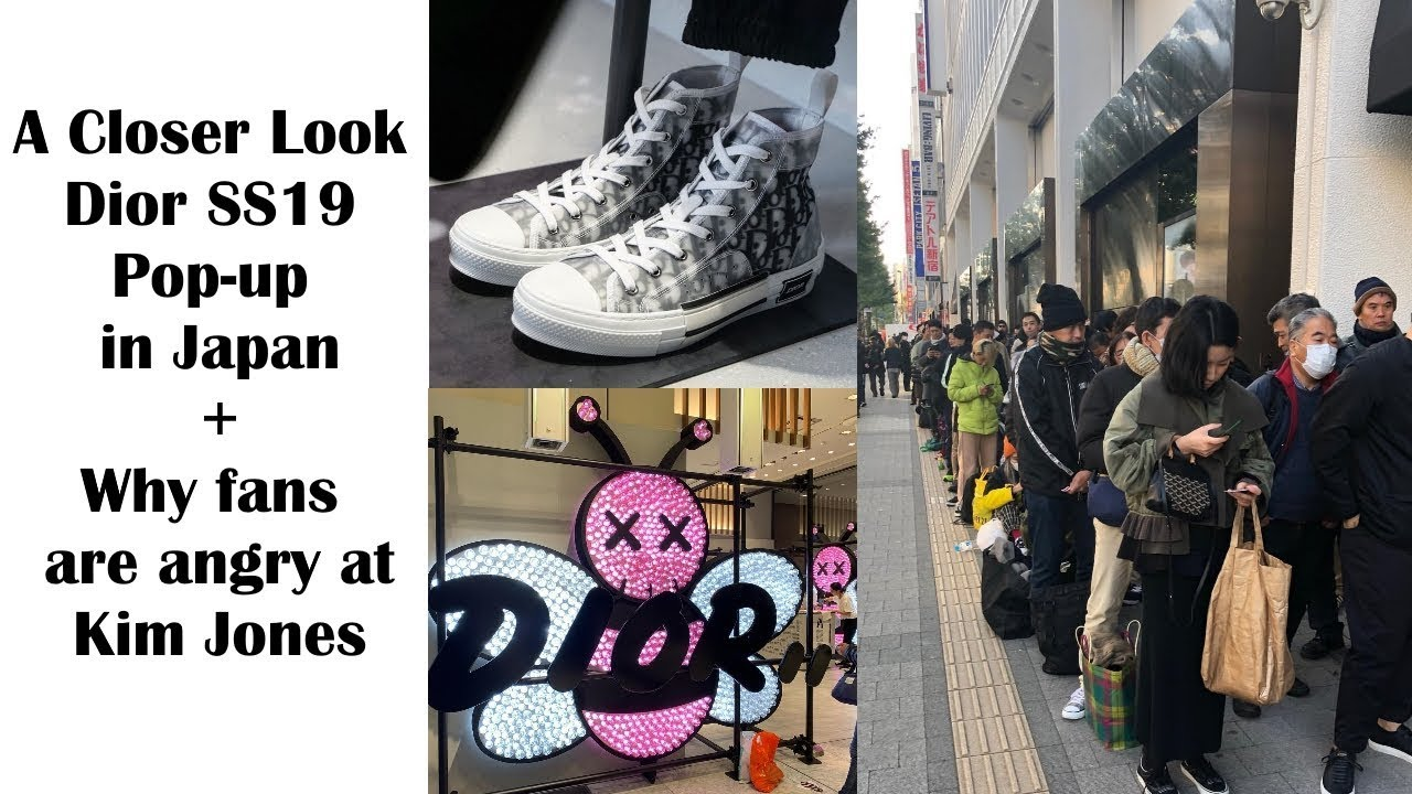 8c7148d4d71 A Closer Look at Dior SS19 Pop-up in Tokyo & Why fans are calling out Kim  Jones