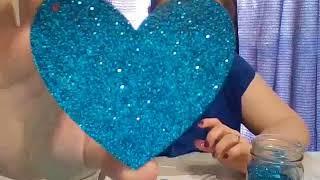 How to Glitter an Acrylic Blank