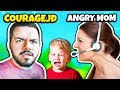 ANGRY MOM Thinks CourageJD IS A CREEP | Fortnite Battle Royale Funny Moments & Epic Fails