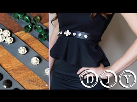 56094b8fba DIY - Dress Up Your Little Black Dress! (NO SEW) - YouTube