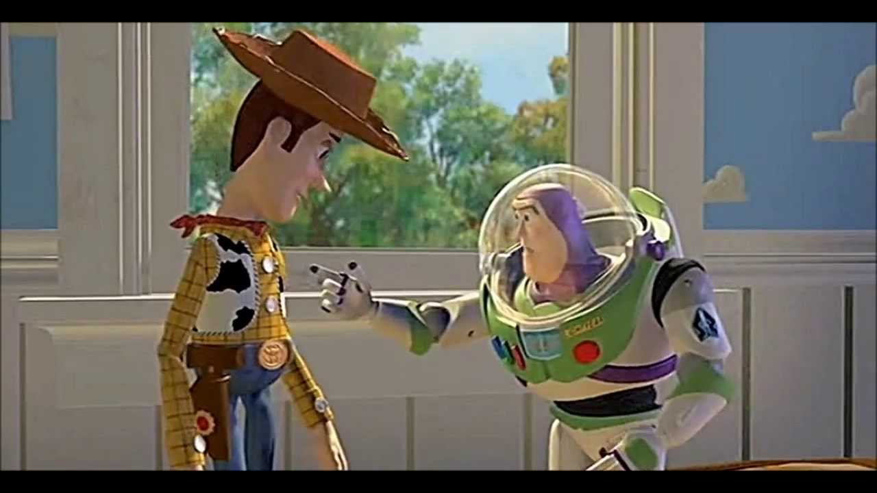 """TOY STORY (1995) Scene: """"I am Buzz Lightyear."""" - YouTube"""