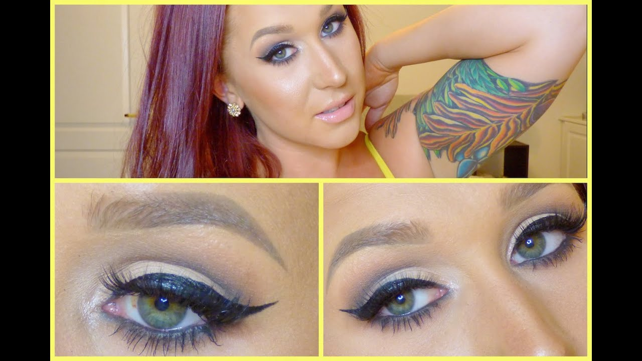 Matte & Sultry Eyes // How to wear black eyeshadow - YouTube