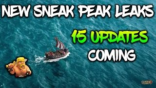 NEW UPDATE OF CLASH OF CLANS | NEW GAMEMODE MAY 2017 COC NEW LEAKS 15 UPDATES COMING DATE CONFIRMED!