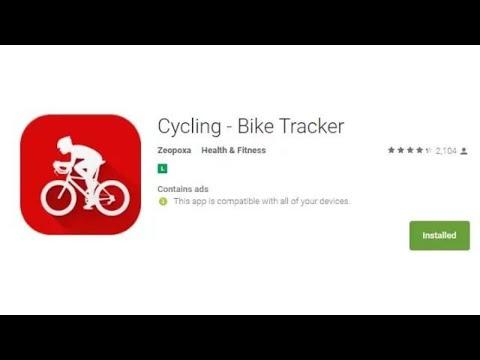 review app para android Cycling - Bike Tracker - app - reprovada #fail