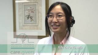 Dr. Xin Zhong with Atlantic General Surgical Associates and Bariatric Center