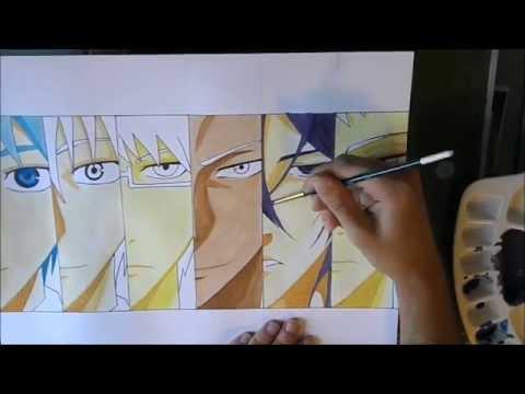 [Kuroko no basket]Drawing Generation of miracle/ Dessin de la Generation de miracle