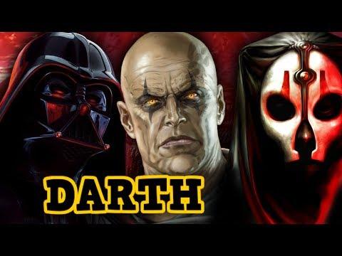 Woher stammt der Titel DARTH? [Legends]