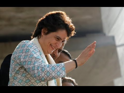 With a roadshow in Lucknow, Priyanka Gandhi Vadra makes political debut in UP