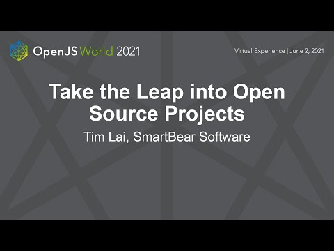 Take the Leap into Open Source Projects