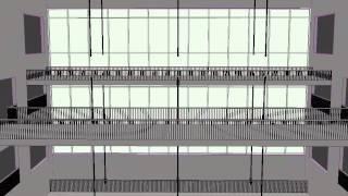 Hyatt Walkway Collapse Simple Animation