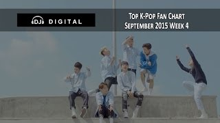 Top K-Pop Songs Chart (Fan Chart) - September 2015 Week 4