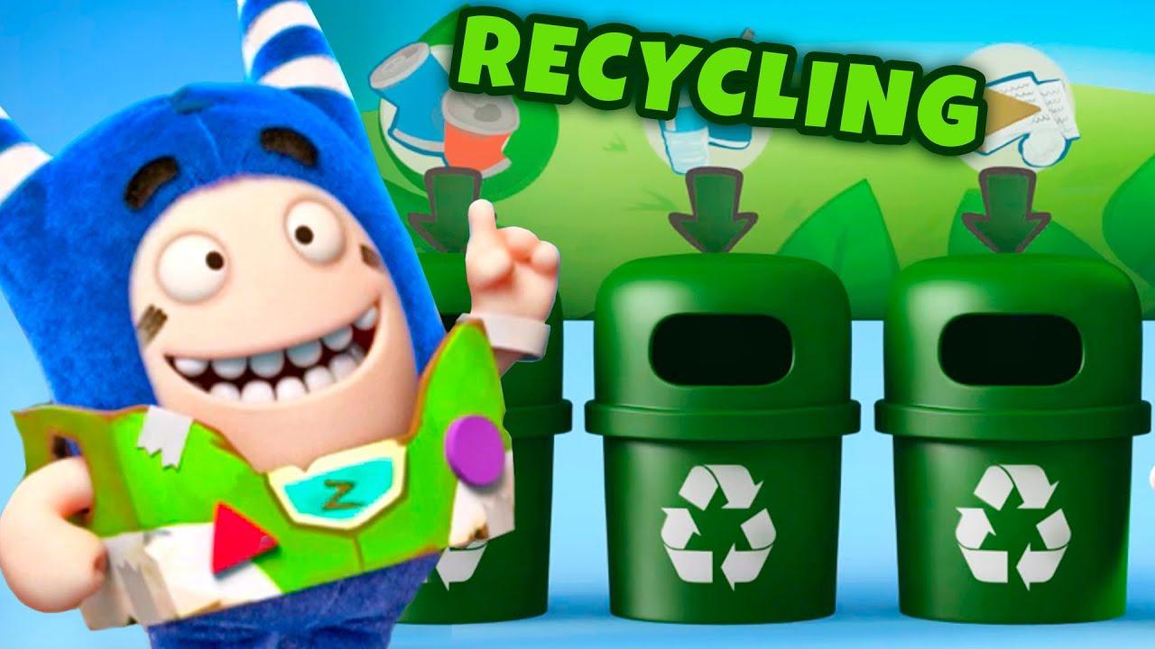 Oddbods Recycle & Make Fun Things!   Funny Cartoon