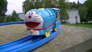 Trem de Brinquedo Tomy Doraemon at Burggarten Schloss Schwerin , Germany 01783 pt