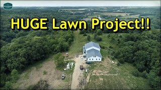 The BIGGEST Lawn Project I've Ever Attempted