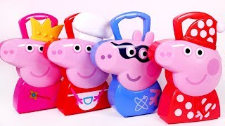 Peppa Pig Carrying Case Playsets for Children