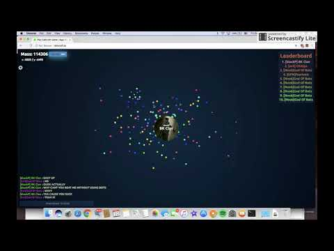 BOT USER DESTOYED WITH AGARIO HACK! 120K HIGH SCORE! GIVEAWAY IN DESCRIPTION