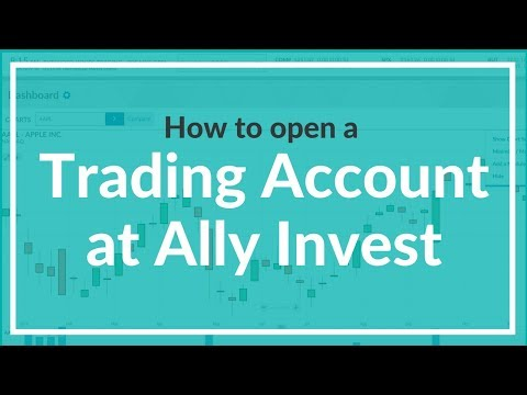 How to Open an Account with Ally Invest (formerly TradeKing)