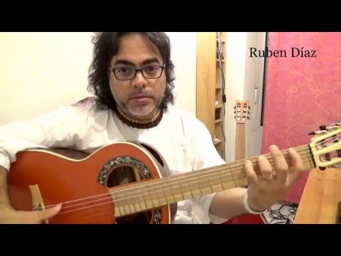 Learn double diminished phrasing (symmetric scale) modern flamenco guitar