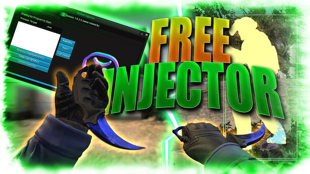 NEW *FREE* INJECTOR FOR CSGO CHEATS/HACKS | UNDETECTED CSGO INJECTOR 2019  || ChillX
