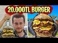 Dubai's Best 3 Hamburgers! 5.000 Dollar Burger! (#Alperin those)